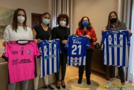 El Patronato de Turismo aporta 15.000 euros al Sporting Club de Huelva para esta temporada