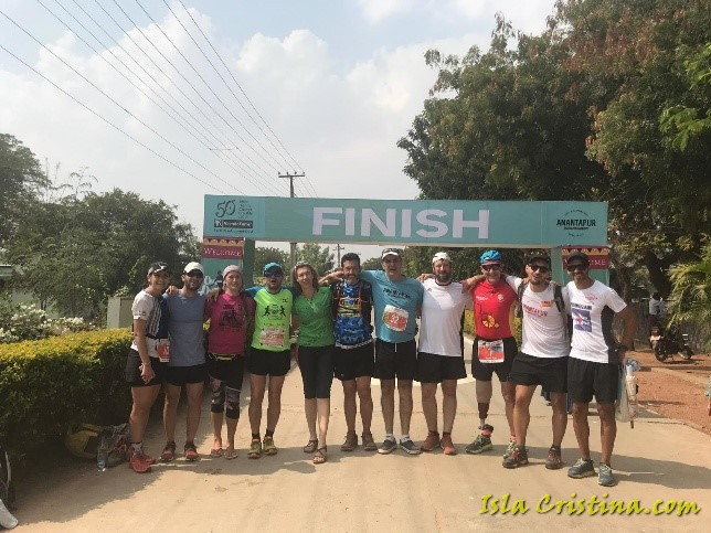 La IV Anantapur Ultramarathon en Huelva