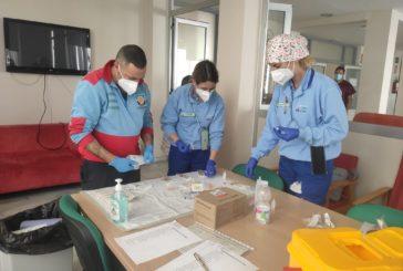 Finaliza con éxito el proceso de vacunación contra la COVID en la Residencia de Mayores 'Virgen del Carmen' de Isla Cristina