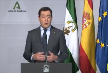 Comparecencia informativa del presidente: Andalucía mantiene el cierre perimetral