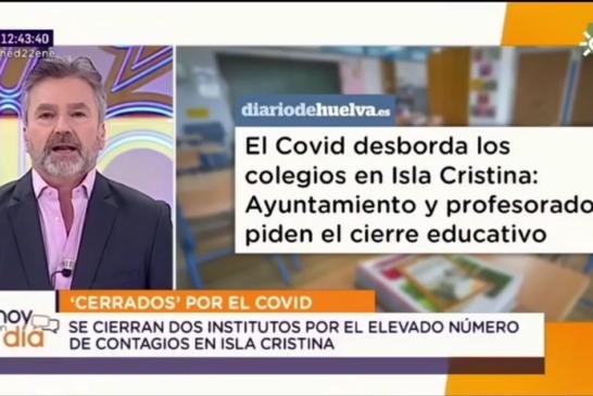 El Covid Desborda los Colegios en Isla Cristina
