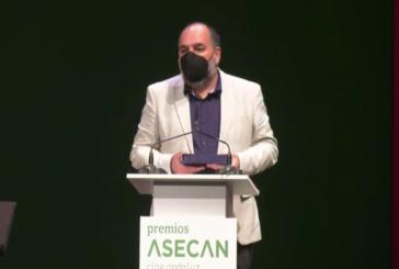 Entrega Premio ASECAN 2021 Festival de Cine de Islantilla por su Labor de Difusión del Cine Andaluz.