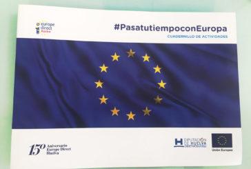 Diputación facilita a los centros escolares material educativo sobre la Unión Europea a través de 'Europe Direct Huelva'