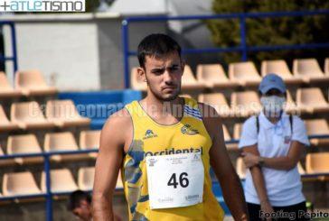 Ángel Real Arzuaga por el podio del Campeonato de Andalucía indoor