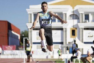 Carlos Martín 5° en triple salto español
