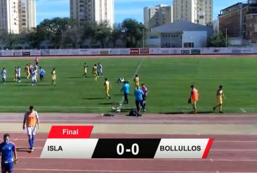 El derbi Isla Cristina vs Bollullos finalizo en tablas