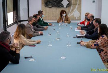 Diputación propone a los municipios crear una mesa de trabajo para el seguimiento del hospital público de la Costa Occidental