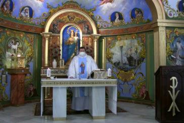 Misa en honor a San Juan Bosco con motivo del día de su Festividad (Pozo del Camino)