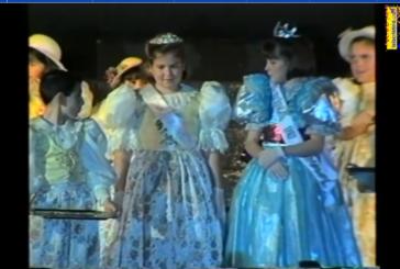 Coronación Infantil Carnaval Isla Cristina 1995. María del Rocío Rodríguez Márquez