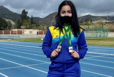 Inés Sequera subcampeona en el Andaluz Absoluto de Lanzamientos Largos