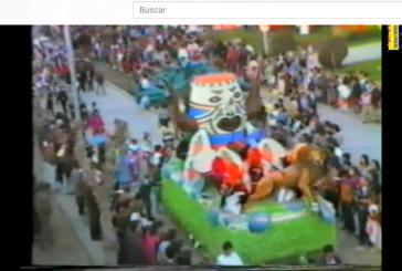 Gran Cabalgata de Carnaval de Isla Cristina del año 1986