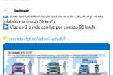 La DGT advierte de las nuevas medidas de velocidad en las poblaciones