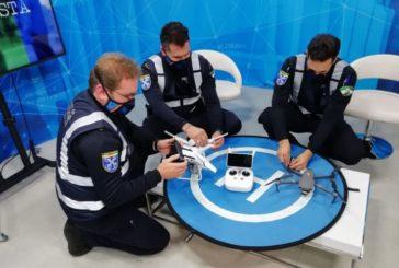 La Policía Local de Isla Cristina, pionera en el uso de drones con la Unidad Hermes