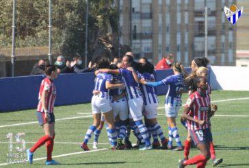 Victoria mastodóntica del Sporting de Huelva frente al Atlético de Madrid