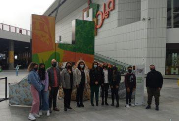 El IES Galeon de Isla Cristina expone en Huelva un proyecto para concienciar sobre el uso de las mascarillas como medida frente al COVID-19