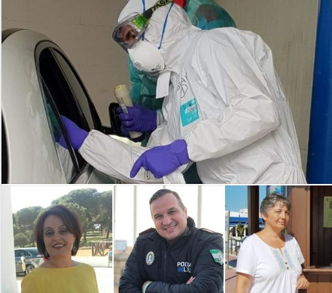 Salud, Seguridad Vial, Política y entretenimiento, en «Las Mañanas» de Radio Isla Cristina