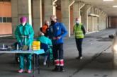 El estadio Nuevo Colombino de Huelva se convierte en un punto de vacunación