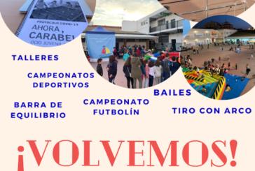 La Asociación Juvenil Carabela reabre sus patios a los jóvenes de Huelva este viernes