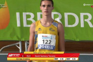 David Santana V de España en Triple