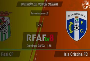 Puerto Real vs Isla Cristina: domingo a las 12:00 y televisado por RFAFtv