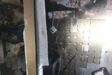Arde por completo una vivienda de madrugada en Isla Cristina