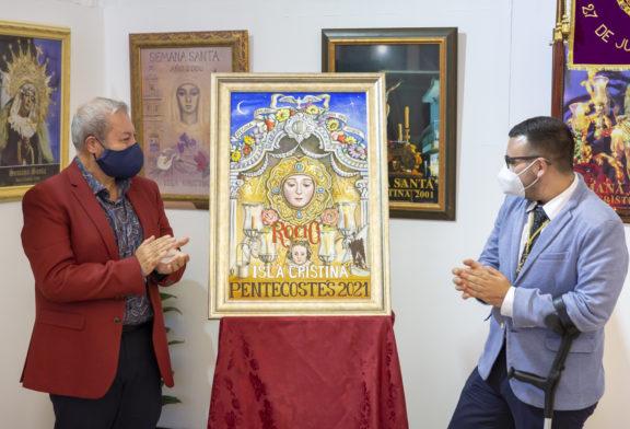 El isleño Francis Zamudio, autor del cartel de Pentecostés de la Hermandad del Rocío de Isla Cristina