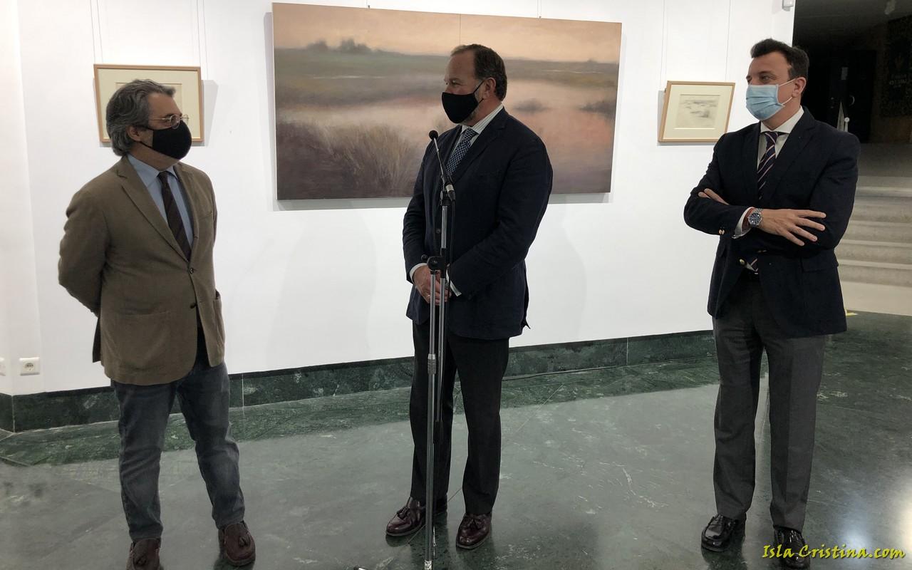 Daniel Bilbao trae hasta la sala de exposiciones de Fundación Caja Rural del Sur los paisajes de Doñana