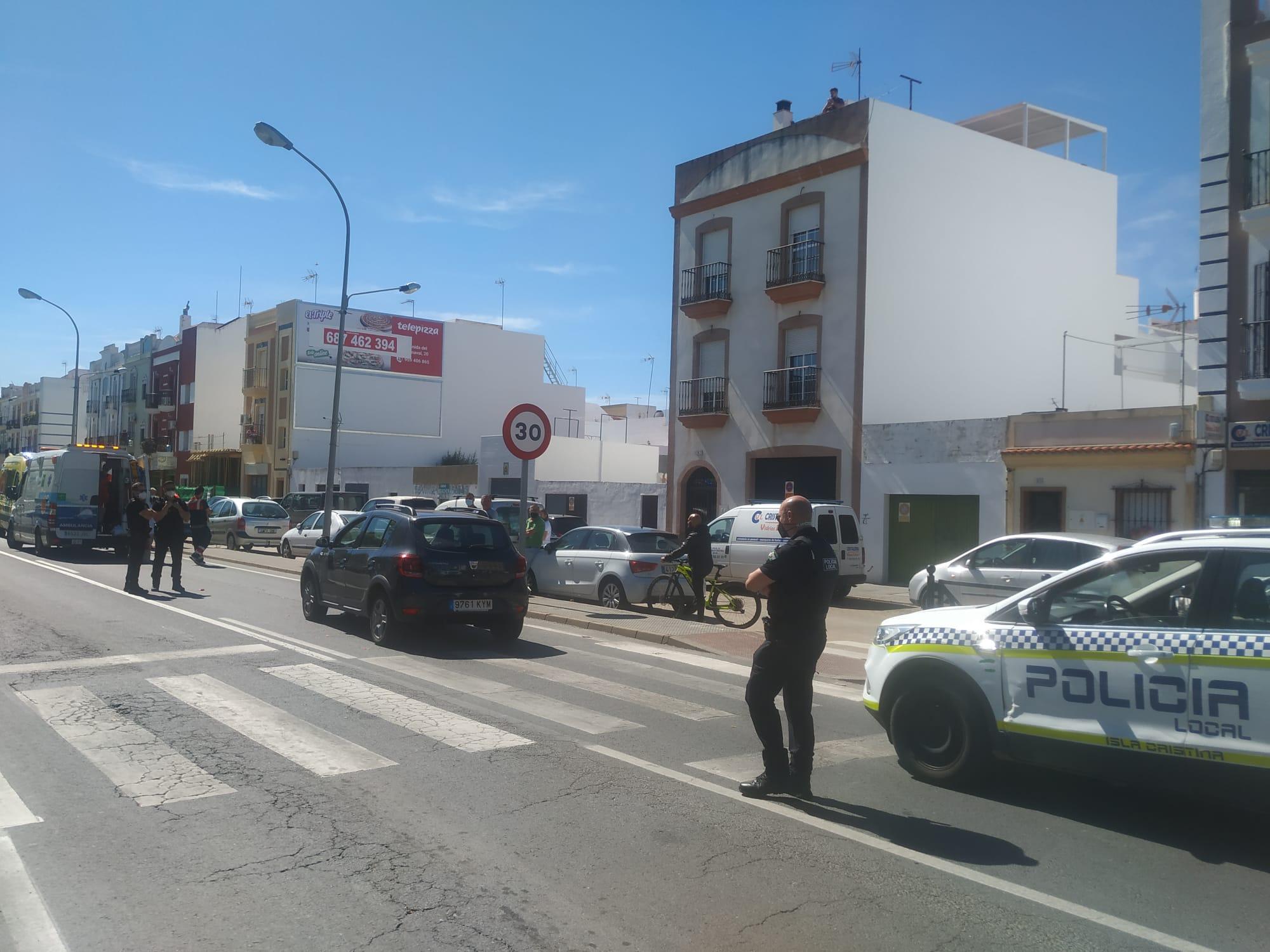 Isla Cristina. Atropellada una mujer en la Ronda Norte