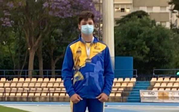 Oro para el isleño Rodrigo García Orozco en el Campeonato de Andalucía zonal occidental sub 14