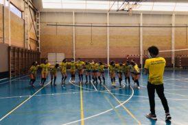 Las cadetes isleñas sacan en Rociana el billete para el Campeonato de Andalucía de Voleibol
