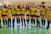 Victoria de las infantiles y cadetes del Voleibol Isla Cristina en Cartaya