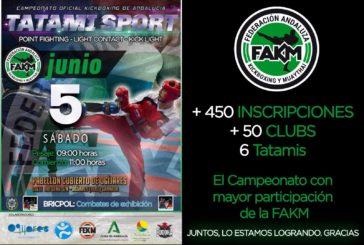 Los luchadores del Club Mushindo a por las medallas del Campeonato de Andalucía