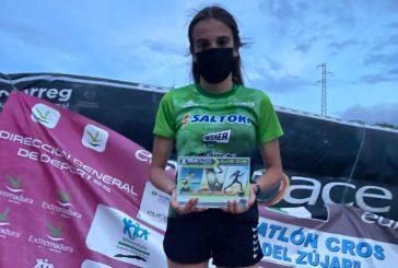 Cristina Jiménez sube al podio en Extremadura