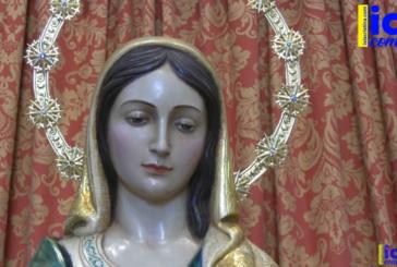 Video: Reposición al Culto de la Imágen de Ntra. Sra. del Mar de Punta del Caimán, tras su restauración.