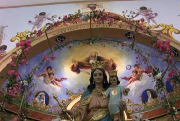 Así despide María Auxiliadora al pueblo de Pozo del Camino, en su Romería 2021