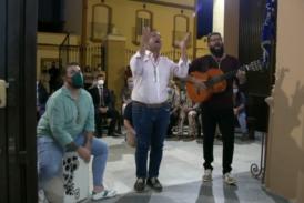 Presentación y Bendición de la Carreta de la Hdad. Filial de la Bella de Isla Cristina