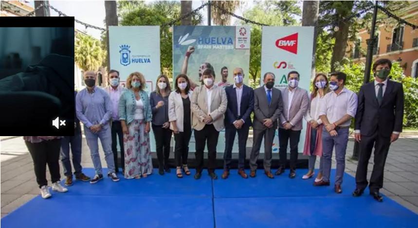 La capital acoge desde este martes la 'Huelva Spain Masters' y recibe a 270 deportistas de más de 30 países