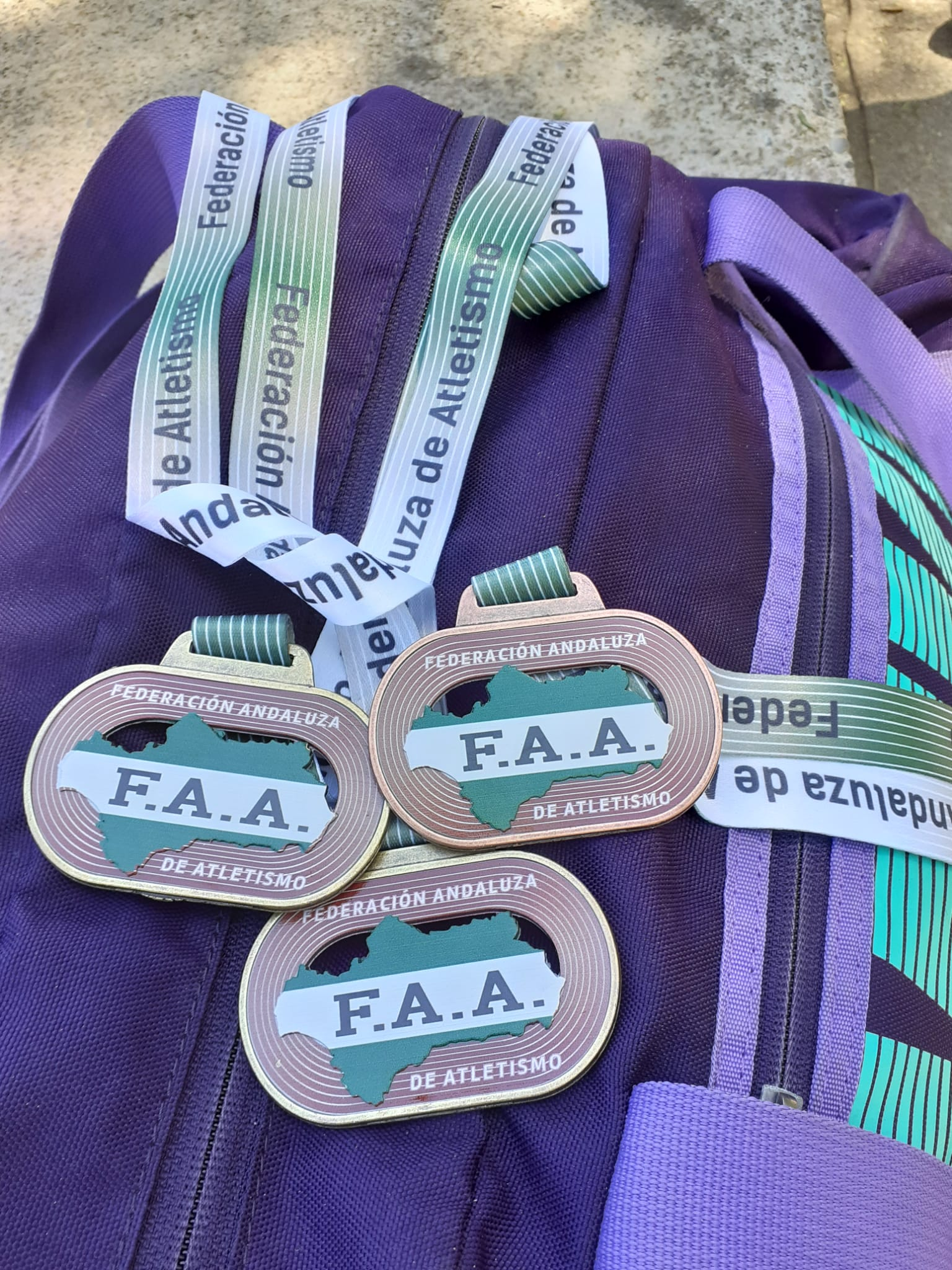 Lluvia de medallas para los veteranos isleños en el Campeonato de Andalucía Máster