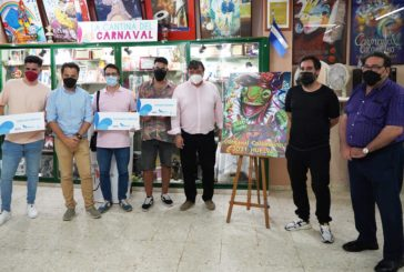 El Carnaval Colombino entrega sus premios del original concurso de coplas online de 2021
