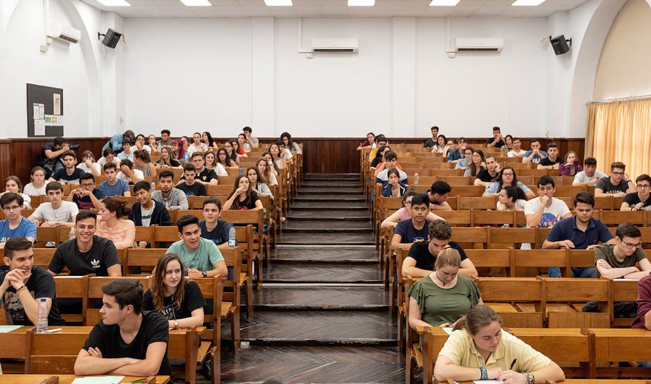 Casi 2.500 alumnos de Huelva se examinan desde el 15 de junio de la prueba de acceso a la Universidad