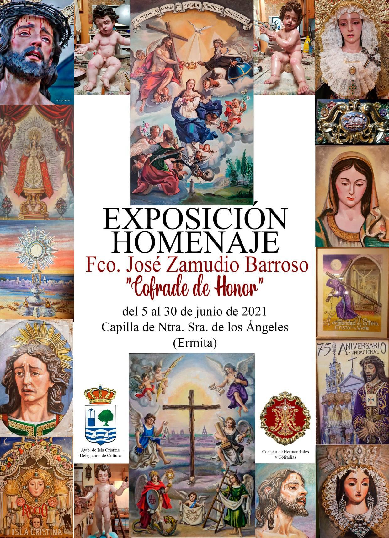 Exposición «Cofrade de Honor» Homenaje al isleño José Zamudio Barroso