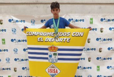 Doblete de oro para el luchador isleño Miguel Pérez González