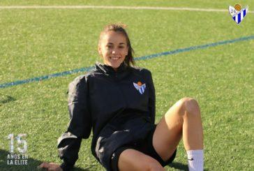 La isleña Gey consigue su primer gol con el Sporting de Huelva