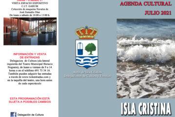 Agenda Cultural Isla Cristina Julio 2021