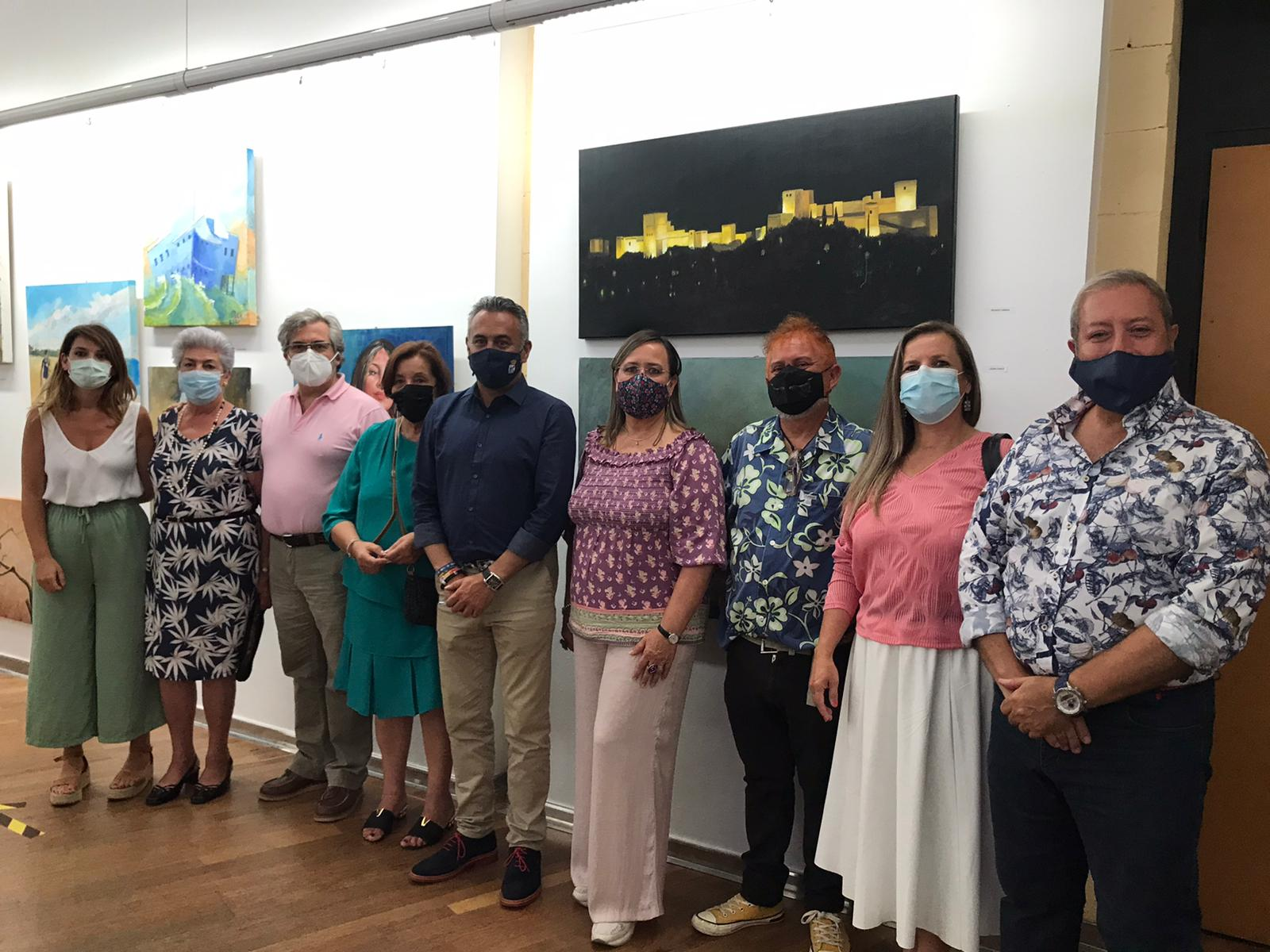 La Exposición fin de curso clausura el Taller Municipal de Artes Plásticas 'Daniel Vázquez Díaz' de Isla Cristina