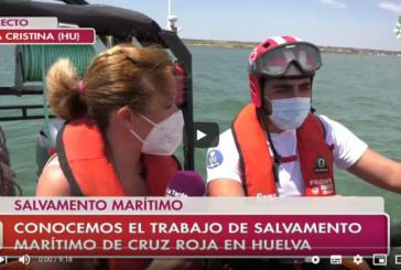 Salvamento marítimo de Isla Cristina, una labor humanitaria y solidaria que salva vidas en el mar
