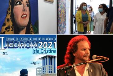 En directo las Primeras Jornadas Andaluzas de Emergencias con Drones en Radio isla Cristina