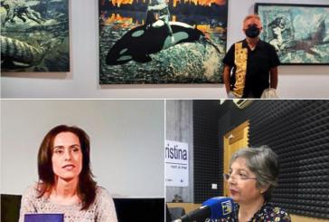 Miguel Ángel Concepción y Eva Sarrias, en las mañanas de Radio Isla Cristina