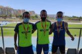 Cortés campeón en 800 y 1500 y Librero bronces en 100, 200 y 400 del Nacional Máster
