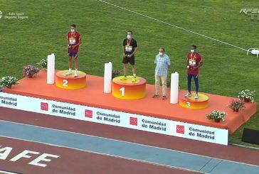 Héctor Santos plata, Laura Garcia-Caro bronce y 8° Carlos Martín y Zakaria Boufaljat en el Campeonato de España